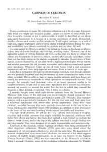 Jones, R.A. 2013. Cabinets of curiosity. Br. J. Ent. Nat. Hist. 26: 149-155.