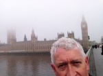 I was worried that the damn fog would play havoc with all my touristy selfies.